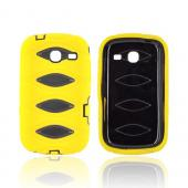 Samsung Freeform 3 Silicone Over Hard Case - Yellow/ Black