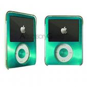 Apple iPod Nano Video Hard Case w/ Metallic Face - Green