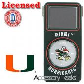 NCAA Licensed iPod Nano College Miami Hurricanes Hard Protective Case