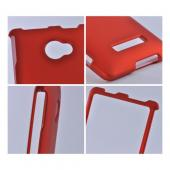Orange Rubberized Hard Case for HTC 8X
