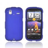 HTC Amaze 4G Rubberized Hard Case - Blue