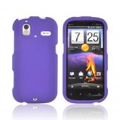 HTC Amaze 4G Rubberized Hard Case - Purple