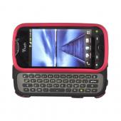 HTC Mytouch 4G Slide Rubberized Hard Case - Rose Pink