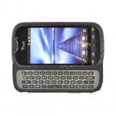 HTC Mytouch 4G Slide Rubberized Hard Case - Gray Plaid on Black
