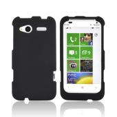 HTC Radar 4G Rubberized Hard Case - Black
