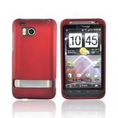 HTC Thunderbolt Rubberized Hard Case - Red