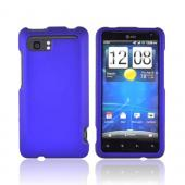 HTC Vivid Rubberized Hard Case - Blue