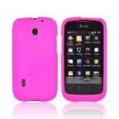 AT&T Fusion U8652 Rubberized Hard Case - Hot Pink