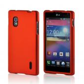 Orange Rubberized Hard Case for LG Optimus G (AT&T)