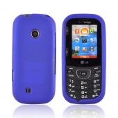LG Cosmos 2 VN251 Rubberized Hard Case - Blue