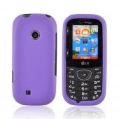 LG Cosmos 2 VN251 Rubberized Hard Case - Purple
