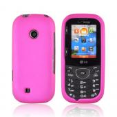 LG Cosmos 2 VN251 Rubberized Hard Case - Rose Pink