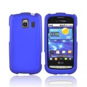 LG Vortex Rubberized Hard Case - Blue