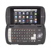 LG Genesis VS760 Rubberized Hard Case - Black