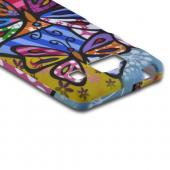 Multi-Color Pizato Designs Butterflies Rubberized Hard Case for Motorola Droid RAZR MAXX HD