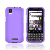 Motorola XPRT MB612 Rubberized Hard Case - Purple