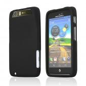 Motorola Atrix HD Rubberized Hard Case - Black