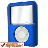 Apple iPod Nano Video Rubberized Hard Case - Blue