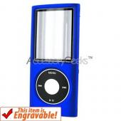 Apple iPod Nano Chromatic Rubberized Hard Case - Blue