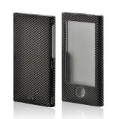 Carbon Fiber Rubberized Hard Case for Apple iPod Nano 7