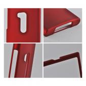 Red Rubberized Hard Case for Nokia Lumia 920