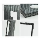 Carbon Fiber Design Rubberized Hard Case for Nokia Lumia 928