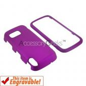 Nokia XpressMusic 5800 Rubberized Hard Case - Fuchsia