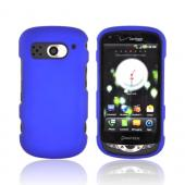 Pantech Breakout Rubberized Hard Case - Blue