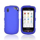 Pantech Hotshot Rubberized Hard Case - Blue