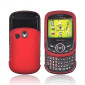 Pantech Jest 2 Rubberized Hard Case - Red