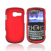 Pantech Link II Rubberized Hard Case - Red