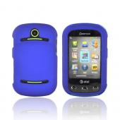 Pantech Pursuit 2 P6010 Rubberized Hard Case - Blue