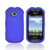 Pantech Crossover P8000 Rubberized Hard Case - Blue