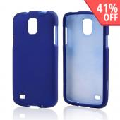 Blue Rubberized Hard Case for Samsung Galaxy S4 Active