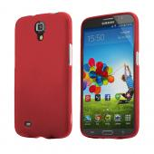 Red Rubberized Hard Case for Samsung Galaxy Mega 6.3