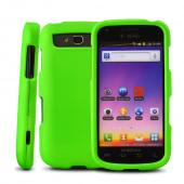 Samsung Galaxy S Blaze 4G Rubberized Hard Case - Green