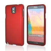 Red Rubberized Hard Case for Samsung Galaxy Note 3