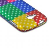 Multi-Colored Artsy Polka Dots Rubberized Hard Case for Samsung ATIV Odyssey