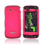 Samsung Sidekick 4G Rubberized Hard Case - Magenta