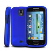 Blue Rubberized Hard Case for Samsung Galaxy S Relay 4G