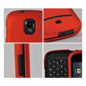 Orange Rubberized Hard Case for Samsung Galaxy S Relay 4G