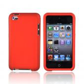 Apple iPod Touch 4 Rubberized Hard Case - Orange