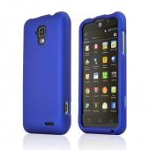 Blue Rubberized Hard Case for AT&T Z998