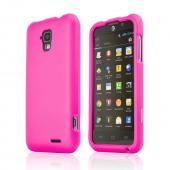 Hot Pink Rubberized Hard Case for AT&T Z998
