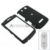 Blackberry Storm Rubberized Hard Case - Black