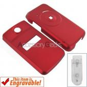 Original Sony Ericsson TM506 Rubberized Hard Case - Red