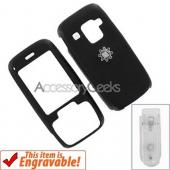 HTC Fusion Rubberized Hard Case - Black