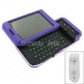 HTC Google G1 Rubberized Hard Case - Purple