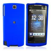 HTC Pure Rubberized Hard Case - Blue