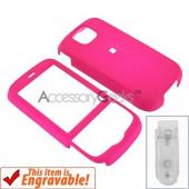 HTC Shadow 2 Rubberized Hard Case - Hot Pink